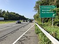 2019-08-07 09 01 47 View south along U.S. Route 29 (Columbia Pike) at the exit for South Entrance Road (Merriweather Post Pavilion) in Columbia, Howard County, Maryland.jpg