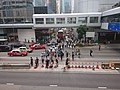 2019-10-04 Central Protest - People Start Blocking Connaught Road Central (2).jpg