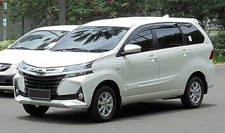 Toyota Avanza Mini MPV model from Toyota