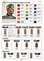 20 article-hdbk-TM-E-30-451 Page 894 Handbook on German military forces US War Dep March 1945--XX Armed Elite Guard Waffen-SS Colors of the Arms Rank insignia General, field, and company officers No known copyright Contrast.jpg
