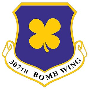 307th Bomb Wing - Image: 307th Bomb Wing patch 2011