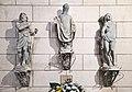 31- Église Notre-Dame de la Dalbade - chapelle de Saint-Germier - Statues originales de la façade.jpg