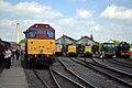 31466, 33108, D9009, 55019 &18000 - Didcot Railway Centre (8863757291).jpg