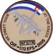 332d Expeditionary Fighter Squadron - Emblem