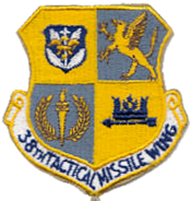 38th Tactical Missile Wing - Emblem