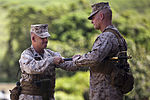 3rd Marines bids farewell to LeHew, welcomes Santiago 130821-M-DP650-001.jpg