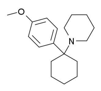 4-MeO-PCP - Image: 4 methoxyphencyclidine