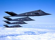 410th Flight Test Squadron - F-117 Formation