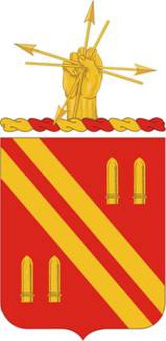4th Battalion 42nd Field Artillery Regiment (United States) - 42d Field Artillery Regiment coat of arms