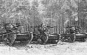 44th rifle tanks