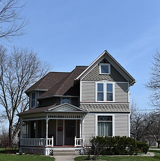 National Register of Historic Places listings in Grant County, Wisconsin - Image: 465 S. Court