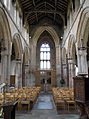 49 Aslackby St James, interior - Tower Arch from Nave.jpg
