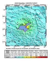 2011 Van earthquakes