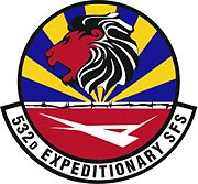 532 Expeditionary Security Forces Squadron Emblem