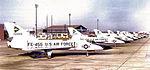 539th Fighter-Interceptor Squadron F-106 Delta Darts on Flightline.jpg