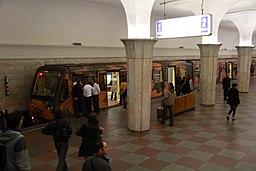 """81-740 741 """"Aquarel"""" train (Метропоезд 81-740 741 """"Акварель"""") (5930119588)"""