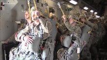 File:82nd Airborne Division Combat Equipment Mass Attack Jump-2016.ogv
