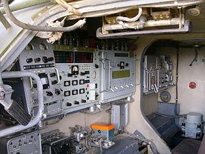 Buk missile system - Inside the TEL of a Buk-M1-2 SAM system