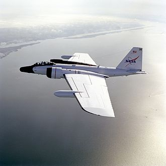 Battlefield Airborne Communications Node - NASA WB-57 as BACN Aircraft, typically above 55,000 feet