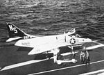 A-4B of VA-153 on USS Kearsarge (CVS-33) 1964.jpg