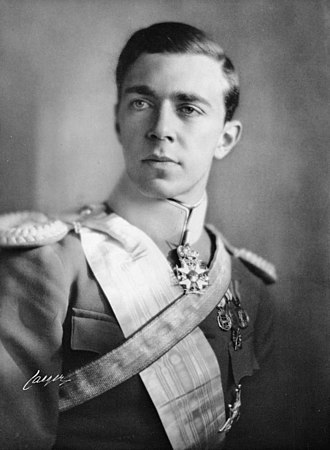 Prince Gustaf Adolf, Duke of Västerbotten - Gustaf Adolf in 1932