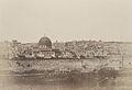 A. Salzmann - Enceinte du temple, vue générale de la face est, Pl. 2 - Jerusalem.jpg