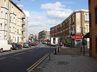 Brondesbury - Image: A4003 Willesden Lane geograph.org.uk 767342