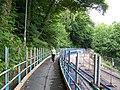 A6102 - Pedestrian Walkway past the Landslip, near Oughtibridge - geograph.org.uk - 863809.jpg