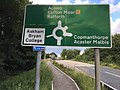 A64 A1237 junction sign.jpg
