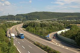 A98 in Lörrach