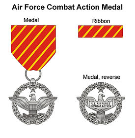 Image illustrative de l'article Air Force Combat Action Medal