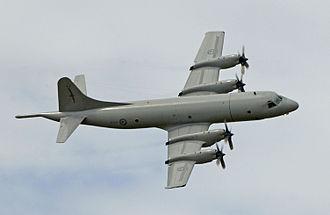 No. 5 Squadron RNZAF - A P-3K in 2005