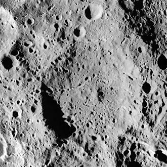 Levi-Civita (crater) - Image: AS15 M 0878