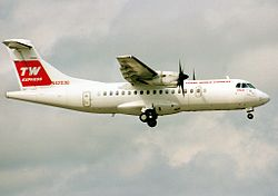ATR ATR-42-300, Trans World Express