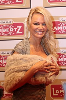 Pamela Anderson Canadian-American actress and model