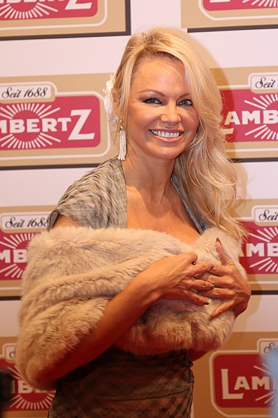 Pamela Anderson, Canadian-American actress and model