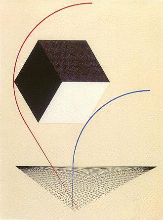 Suprematism - El Lissitzky, A Proun, c.1925