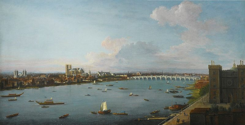 File:A View of the City of Westminster over the River Thames by Antonio Joli.jpg