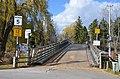 A delightful wooden bridge across the channel towards Lake Ontario (27287310774).jpg