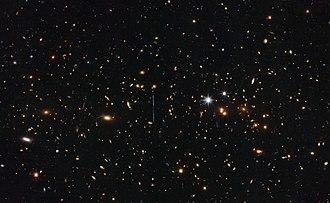 El Gordo (galaxy cluster) - Image: A gargantuan collision ACT CL J0102 4915