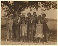 A group of berry pickers from Philadelphia on Giles Farm, Seaford Del. The children came before school vacation. They are now ready to leave Seaford and go to Riverton, N.J. to continue LOC cph.3b39344.jpg