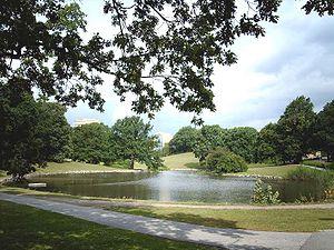 University Park, Aarhus - Image: Aahus university lake