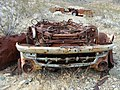 Abandoned Rolled Car - panoramio - Zzyzx.jpg