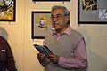 Abhoy Nath Ganguly - Addressing - Opening Ceremony - Atanu Ghosh Solo Exhibition - Kolkata 2013-12-05 4646.JPG