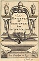 """Abraham Bosse, Frontispiece for Callot's """"The Penitents"""", NGA 36869.jpg"""