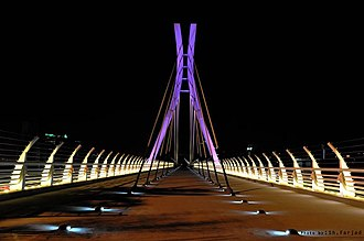 Greater Tehran - Image: Abrisham Bridge Tehran