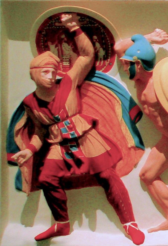 Achaemenid infantry on Alexander Sarcophagus