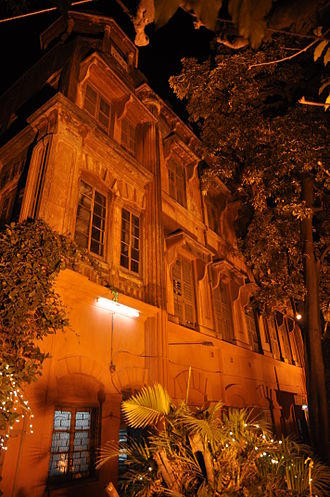 Jagadish Chandra Bose - Acharya Bhavan, the residence of J C Bose built in 1902, was turned into a museum.
