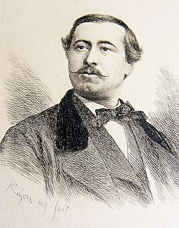 Achille Millien (gravure de Paul Adolphe Rajon)