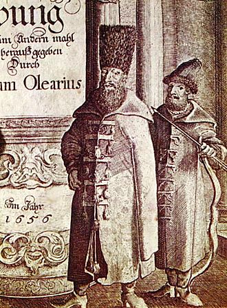 Adam Olearius - Russian boyar from one of Adam Olearius's books